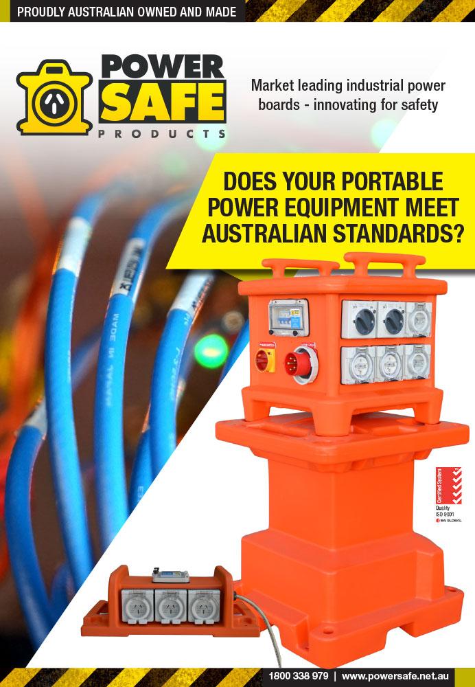 Australian standards power boards